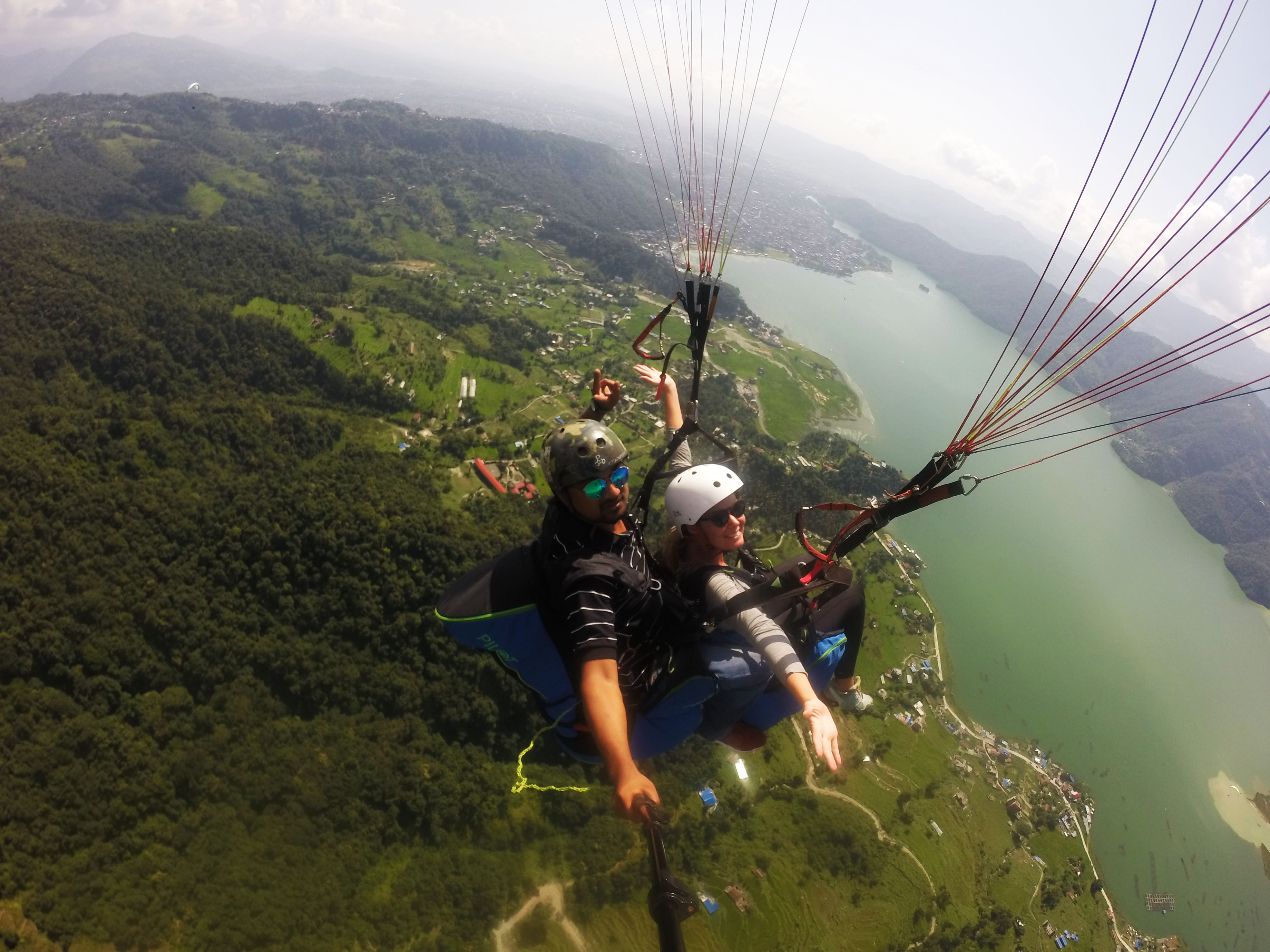 Paragliding RED