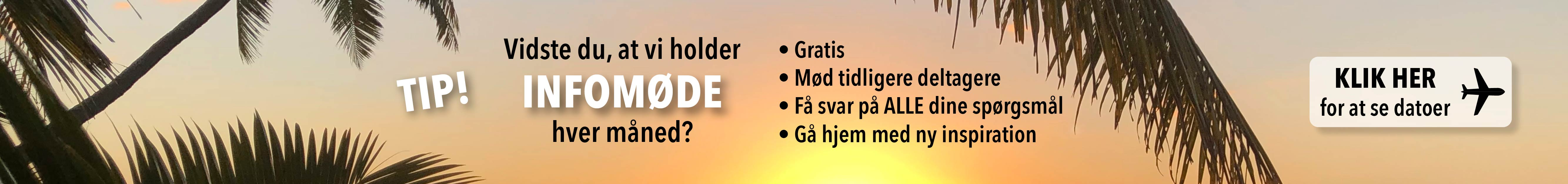 Viste du at vi holder infomøder hver måned?